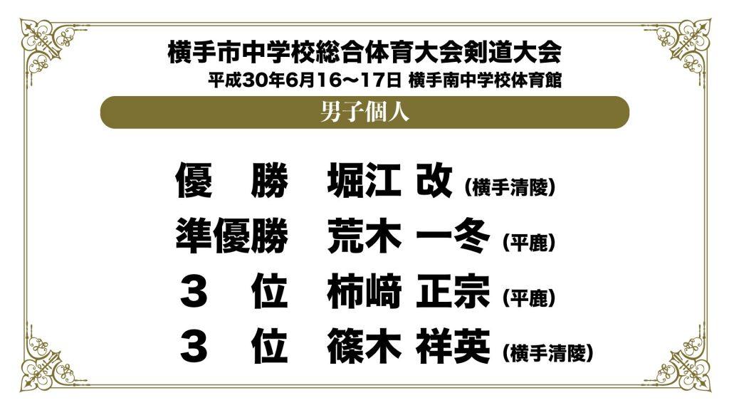 横手市中学校総合体育大会剣道大会.003