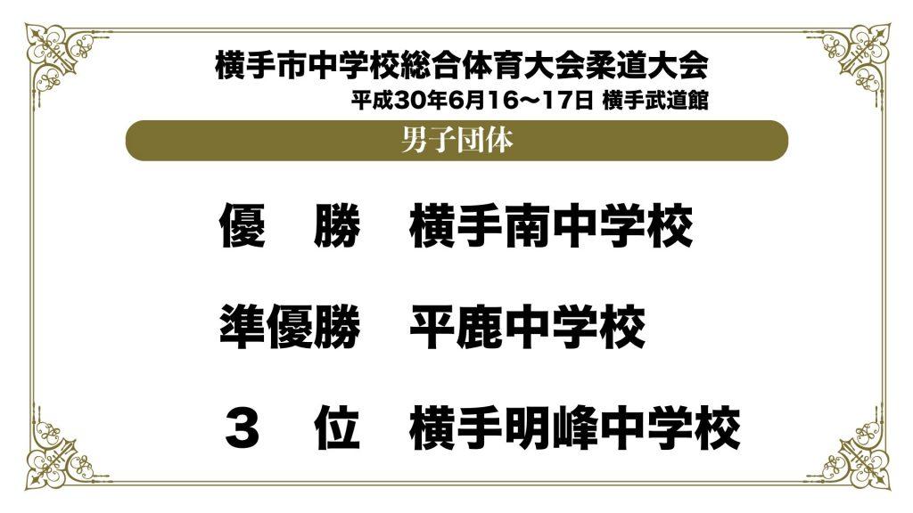 平成30年度横手市中学校総合体育大会柔道大会.001